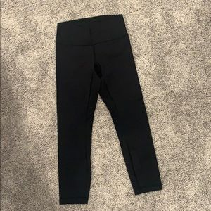 Lululemon 7/8 black pant